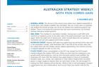 ANZ Australian Strategy Weekly