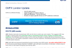 Citi Research London Update G10 FX PDF