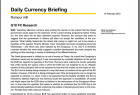 Commerzbank Daily Currency Briefing G10 FX Research PDF