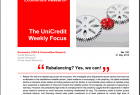 UniCredit Weekly Focus Economic Research PDF