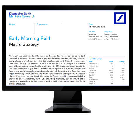 Daily forex market reports