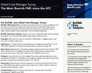 BAML Global Fund Manager Survey